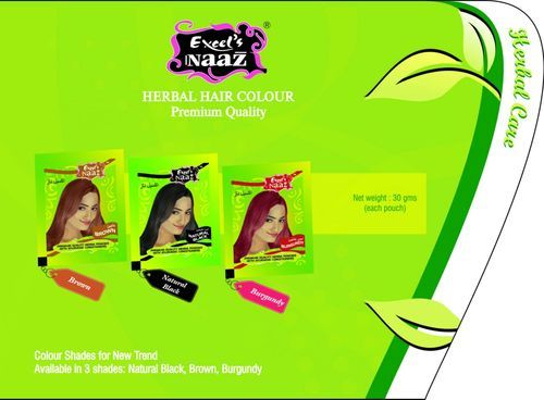 Excel's Naaz Hair Color