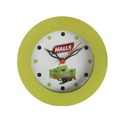 Rounded Plastic Wall Clock