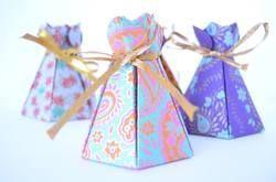 Silk Screen Printed Favor Boxes
