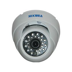 Secura 1/3 Inch IR Metal Dome Camera