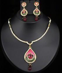 bridal wedding jewellery set