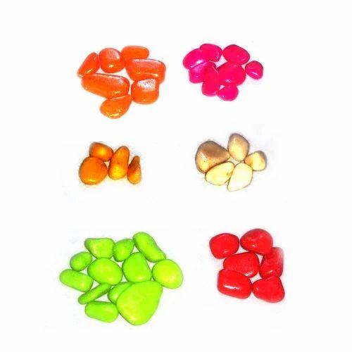 Metallic Pebbles