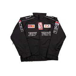 Men Ferrari Black Jackets