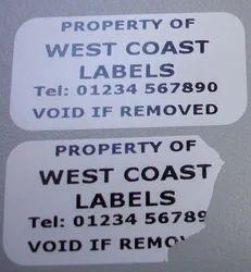 Tamper- Proof Labels