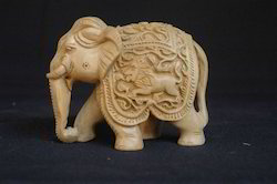 Wooden Fine Carving Elephant