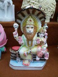 Marble Narasimha Statue