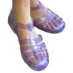 PVC Crystal Sandals