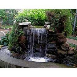 Superb Outdoor Garden Waterfall