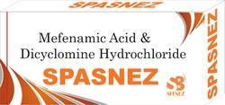 Mefanamic Acid& Diclomine Hydrochloride Tablet