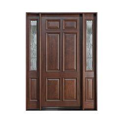 Solid Wood Door in Faridabad, Haryana | Manufacturers, Suppliers ...