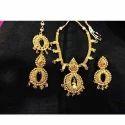 Heavy Gold Necklace Set