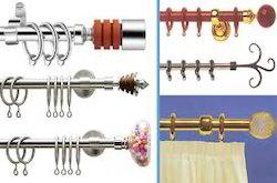 Designer Curtain Rods
