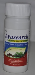 ayusearch herbal tooth powder