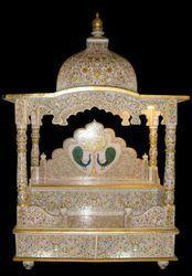 Marble Designed Temple Statue
