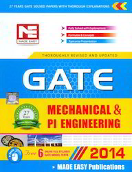GATE 2014 Mechanical Engg Solved Paper