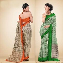 shandel net saree