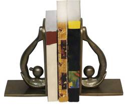 Polished Aluminum Bookends