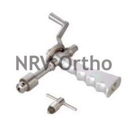 Micro Open Hand Drill-SS Gear