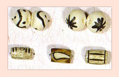 Hand Crafted Bone Beads