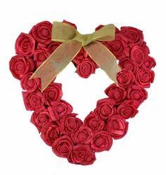 rose heart shape flower