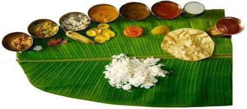 South indian lunch menu for marriage