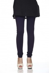 Navy Blue Hosiery Churidar Leggings