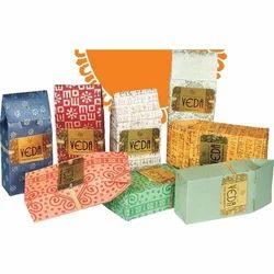 Handmade Paper Tea Packs
