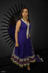 Beautiful Blue Readymade Salwar Kameez