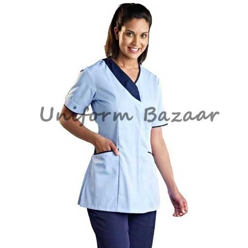 Spa uniform beauty work wear manufacturer from mumbai for Spa worker uniform