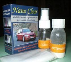 nano clear for automobile windshields