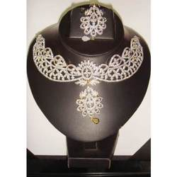 Designer American Diamonds Wedding Jewellery