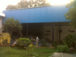 Godown using roofing shed