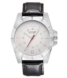 VESPL Urbane White Dial Analog Men's Watch-VS181