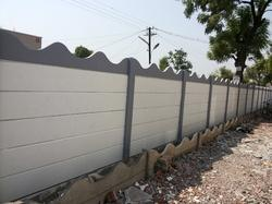 Compound walls rcc folding concrete compound walls manufacturer from pune - Readymade wall partitions ...