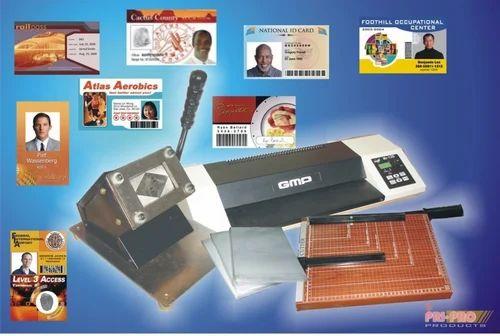 mannual id card making unite - Card Making Machine