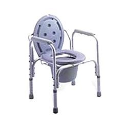 Stainless Steel Commode Wheelchairs