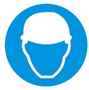Wear Safety Helmet Sign | Dolphin & Co | Manufacturer in