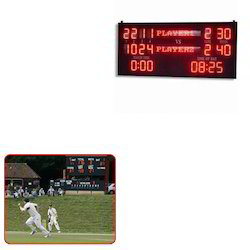Scoreboards for Matches