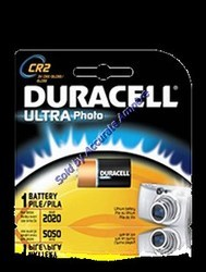 Duracell Cr2 3v Lithium Limno2 Maganese Dioxide Battery