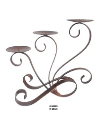 Scroll Candle Holder