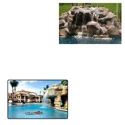 Pool Waterfall for Resorts