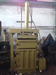 Single Box Hydraulic Baling Press For Corrugated Box