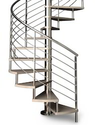 Fabricated spiral staircase manufacturers suppliers for 4 foot spiral staircase