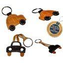Leather Designer Key Rings - Customized Themes