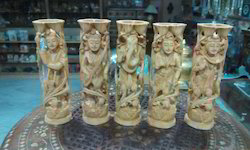Wooden Carving God Statues