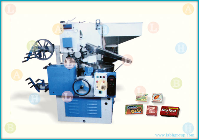 Automatic High Speed Side Fold Wrapping Equipment for Toffee
