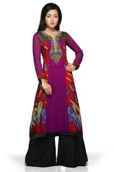 Stylish Designer Party wear Fashion Ladies Long Kurti