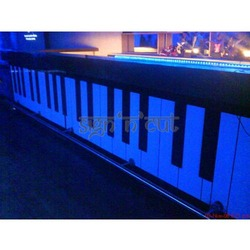 Designer MDF Piano Bar Counter