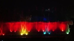 Musical Fountain Revolving with Vertical