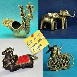 Handmade Sculpture - Dhokra - Bell Metal Animal Figurine